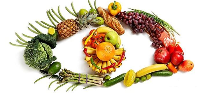 ویتامین و مواد غذایی لازم برای سلامت چشم